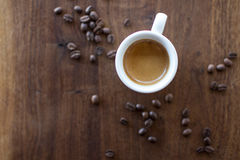 Ochtendespresso Royalty-vrije Stock Fotografie