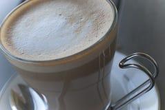 Ochtendkoffie of latte Royalty-vrije Stock Afbeeldingen