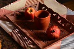Ochtendontbijt stock afbeeldingen
