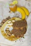 Ochtendontbijt Stock Foto