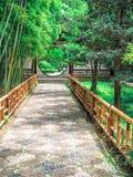 Ociągający się ogród, renomowany klasyczny chińczyka ogród, rozpoznający jako UNESCO światowego dziedzictwa miejsce przy Suzhou,  obraz royalty free