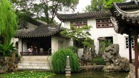 Ociągający się ogród, Suzhou, Chiny Zdjęcie Royalty Free