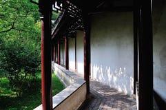 Ociągający się ogródu krajobraz Fotografia Stock