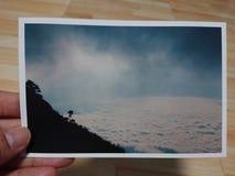 Ocienia &†‹wzgórze, Doi Luang Chiang Dao - †‹Tajlandia Obraz Royalty Free