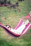 Ocio al aire libre de relajación Foto de archivo libre de regalías
