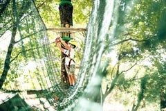Ocio de la aventura del verano en Albania Foto de archivo libre de regalías