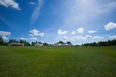 Ocio del active del campo del golf Foto de archivo libre de regalías