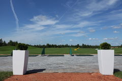 Ocio del active del golf Imagen de archivo libre de regalías
