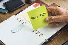 Ocio Joy Concept de la felicidad de la libertad del buen día de la diversión Imagen de archivo