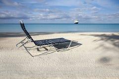 Ocioso de la playa y el mar fotos de archivo