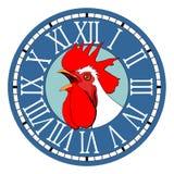 Ock do ¡ de Ð no seletor redondo do relógio Fotografia de Stock