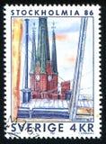 också som vetna name gammala stället poland s för bryggerikristen kyrkan det tower townen var zywiec fotografering för bildbyråer