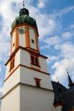 också som vetna name gammala stället poland s för bryggerikristen kyrkan det tower townen var zywiec Arkivfoton