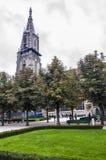 också som vetna name gammala stället poland s för bryggerikristen kyrkan det tower townen var zywiec Arkivbild