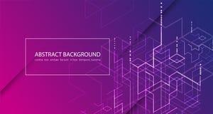 också vektor för coreldrawillustration Backgrou för Digital teknologi och teknik royaltyfri illustrationer