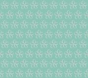 också vektor för coreldrawillustration 10 eps Blommor på en blå bakgrund Seaml Royaltyfri Fotografi