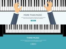 också vektor för coreldrawillustration Musikalisk plan bakgrund med hjärtor Förälskelse Pianotangenttangentbord melodi instrument vektor illustrationer