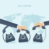 också vektor för coreldrawillustration Plan kommunikationsbakgrund Socialt prata för nätverk Call center Telefon vektor illustrationer