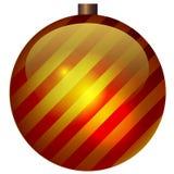 också vektor för coreldrawillustration Randig päls-träd leksak Royaltyfri Foto