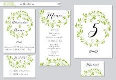 också vektor för coreldrawillustration Samling av bröllop Fotografering för Bildbyråer