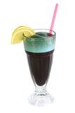 ocktail spirulina στοκ φωτογραφία