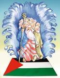 Ockupation av Palestina stock illustrationer