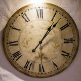 Oclock clock time old clock Stock Photos