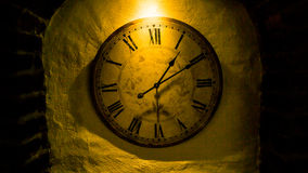 Oclock clock time old clock detail time is money Royalty Free Stock Image