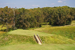 Ocmulgee National Monument royalty free stock photo
