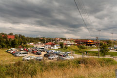 Ocna Sibiu, Romania Royalty Free Stock Images