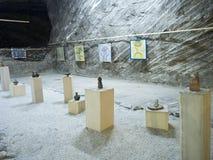 Ocnele Mari salt mine Stock Photography