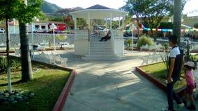 Oconahua广场,哈利斯科州 免版税库存照片
