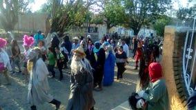 Oconahua Fest royaltyfri bild