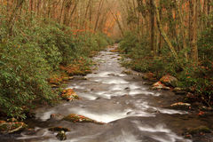 Oconaluftee River Stock Photo