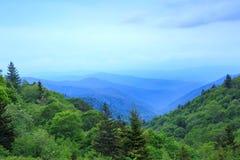 Oconaluftee Valley Overlook Smoky Mountains Royalty Free Stock Image