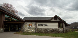 Oconaluftee Visitors Center Stock Photography