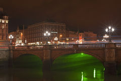 OConnell Bridge, Dublin Stock Photo