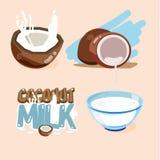 Oconut milk -  Royalty Free Stock Photography
