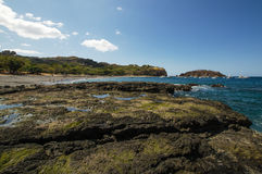 Ocotal plaża w Guanacaste, Costa Rica - Obraz Royalty Free