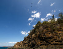 Ocotal plaża w Guanacaste, Costa Rica - Zdjęcie Stock
