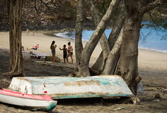 Ocotal plaża w Guanacaste, Costa Rica - Fotografia Stock