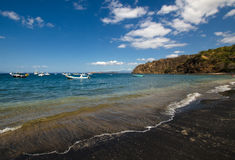 Ocotalstrand in Guanacaste - Costa Rica royalty-vrije stock foto