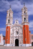 Ocotlan cathedral Royalty Free Stock Photo