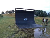 OCR obstacle Royalty Free Stock Images