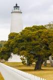 Ocracoke fyr Royaltyfria Bilder