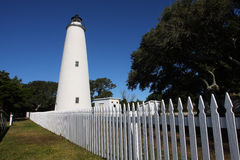 Ocracoke Island Lighthouse Royalty Free Stock Image
