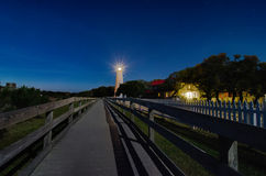 Ocracoke island at night Royalty Free Stock Photography