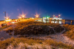 Ocracoke island at night Stock Photo