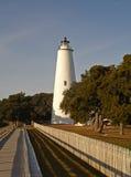 Ocracoke Leuchtturm Stockfotos