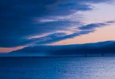 Ocracoke storm stock photography